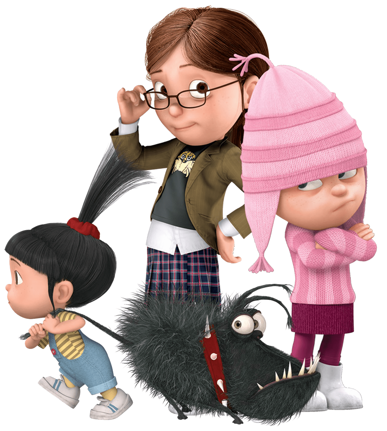 Kids and despicable me. Clipart dog person