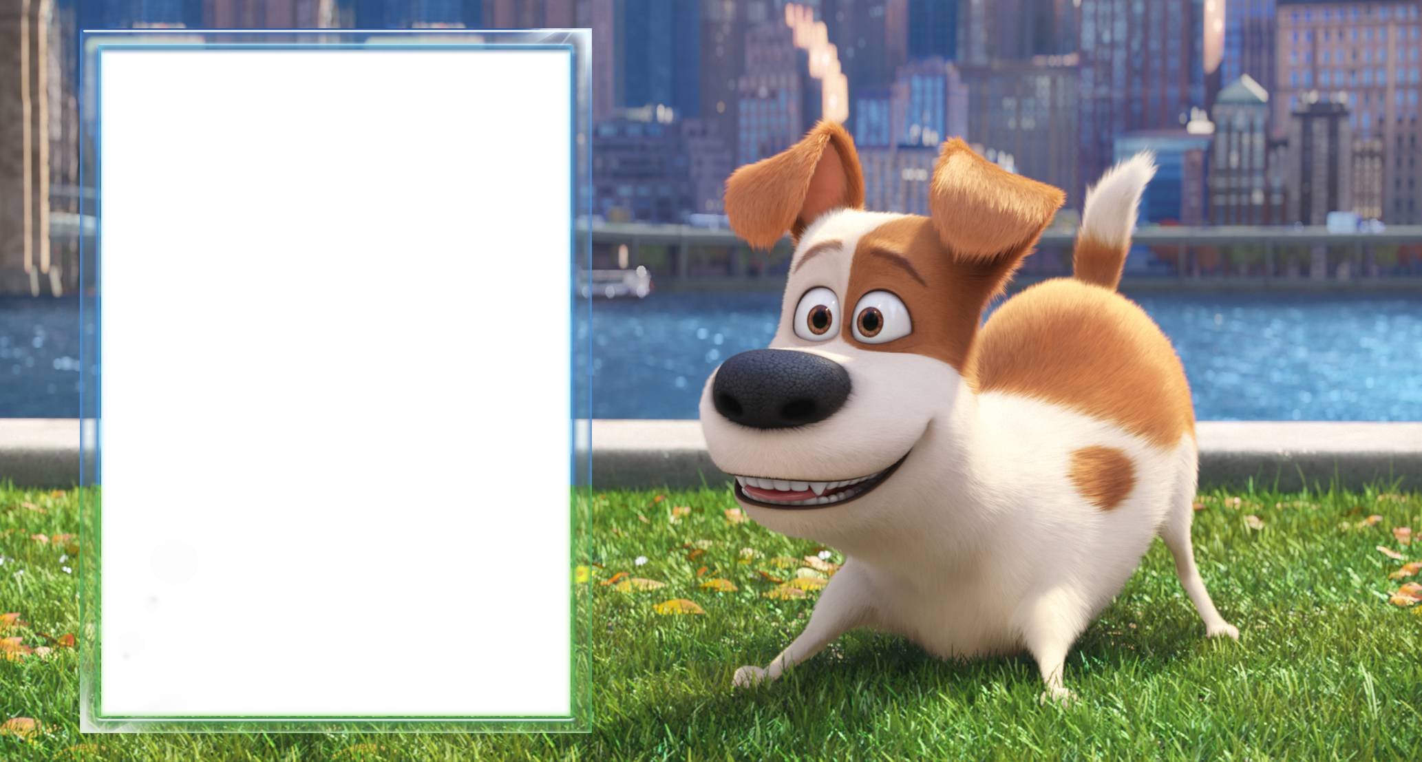 The secret life of. Clipart dog picture frame