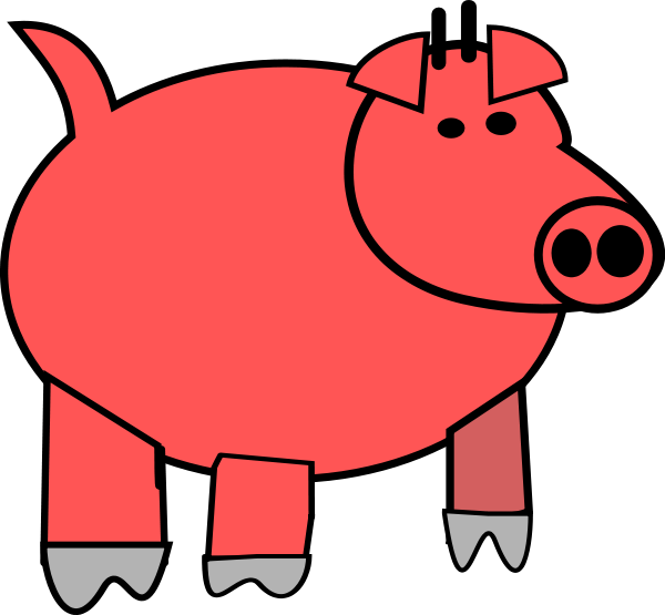 Clipart pig body. Face panda free images