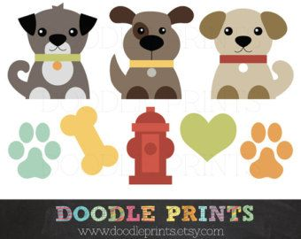 Dog clip art dogs. Clipart puppy printable