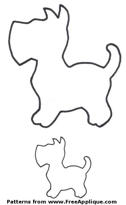 Free dog patterns poodle. Dogs clipart shape