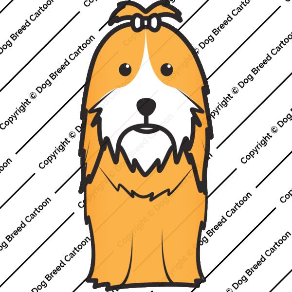 Shih tzu buy animation. Clipart dog shitzu