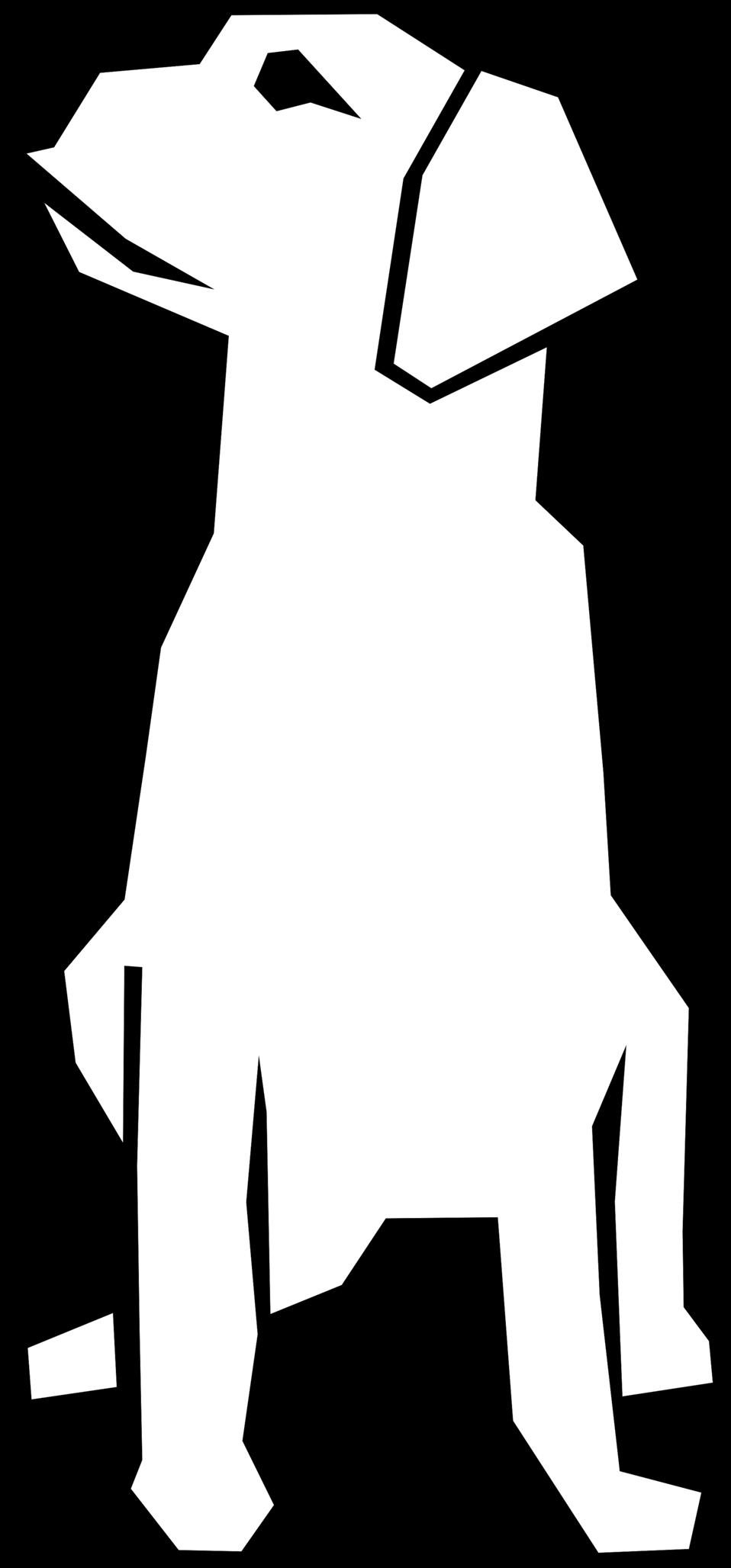 Public domain clip art. Clipart dog simple