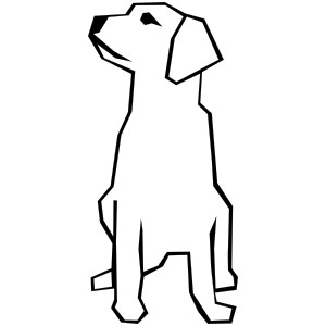 Clipart dog simple. Free easy puppy cliparts