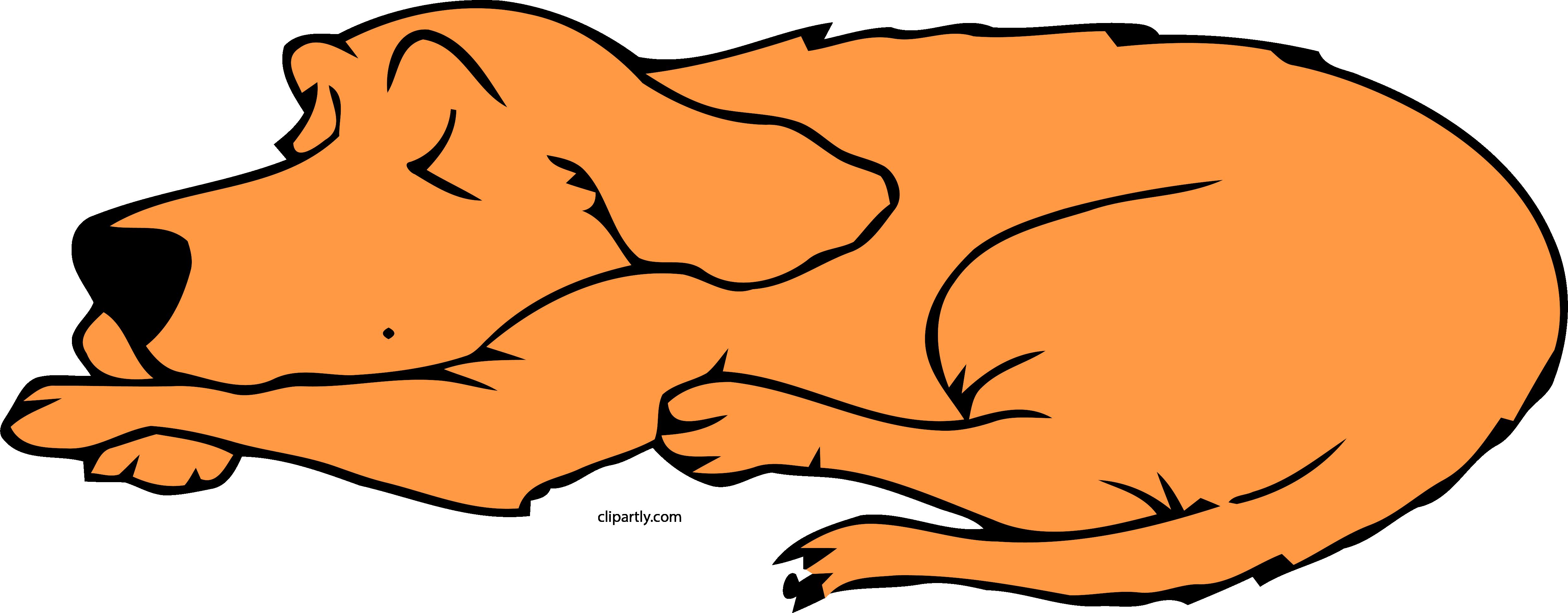 Dog clipart sleeping. Peru color png clip