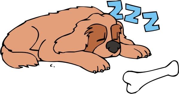 Dog clipart sleeping. Free nap cliparts download