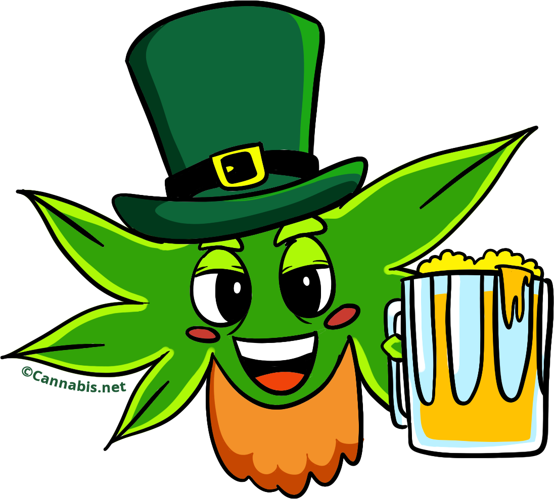 The reefer report for. Clipart dog st patrick day