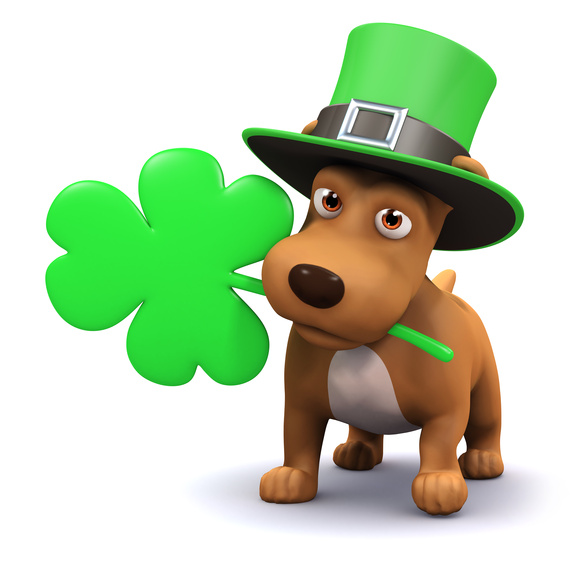 Clipart dog st patrick day.  fun ways to