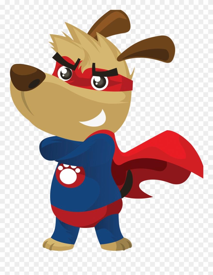Hero clipart animal. Dogs superhero super dog