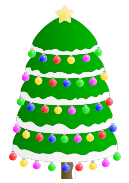 Christmas free holiday graphics. Tree clipart face
