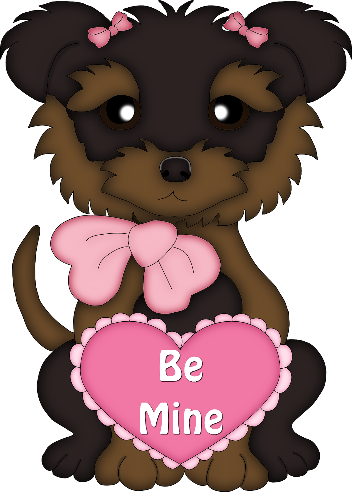 Cute s dogs oh. Valentine clipart dog