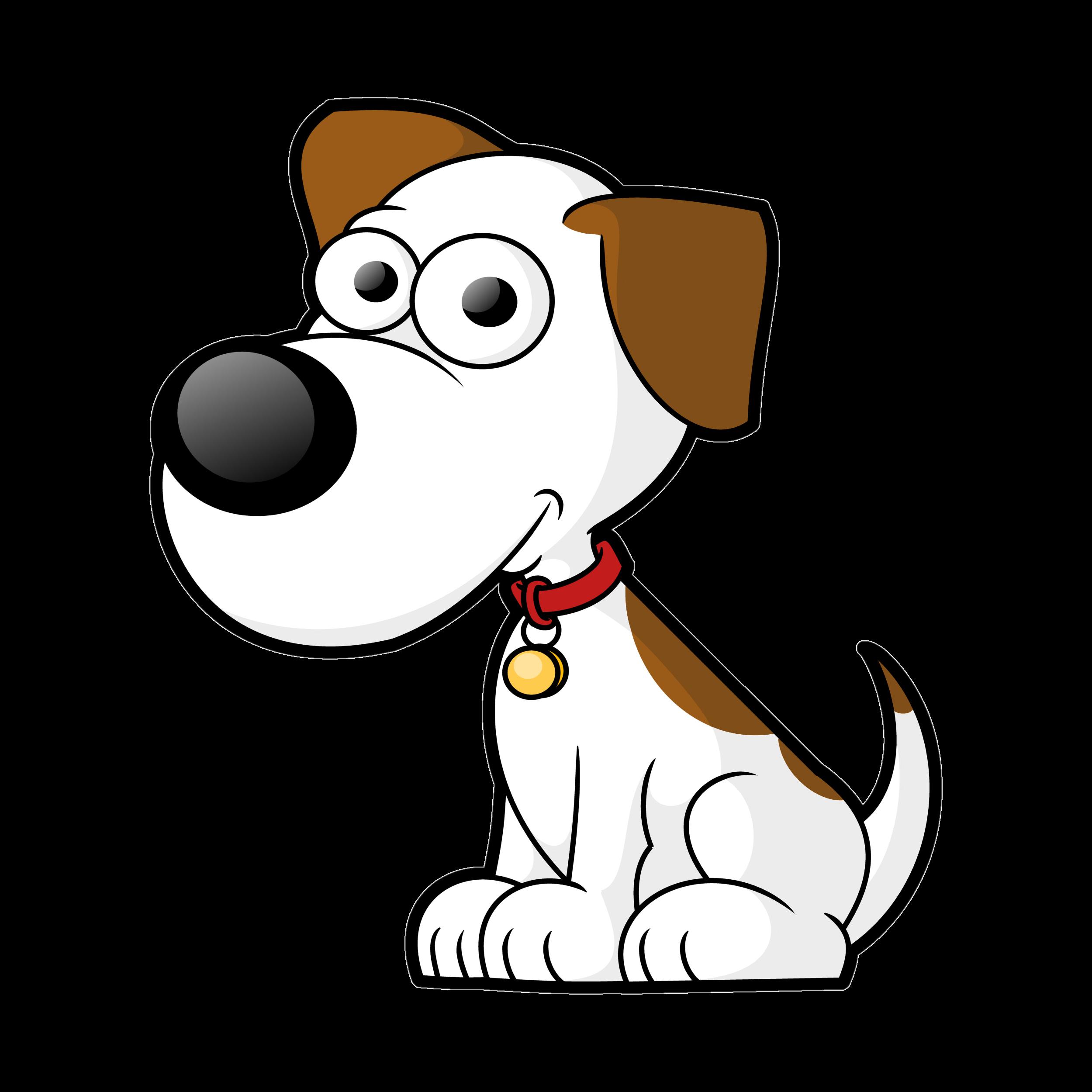 Free cartoon clip art. Dog vector png