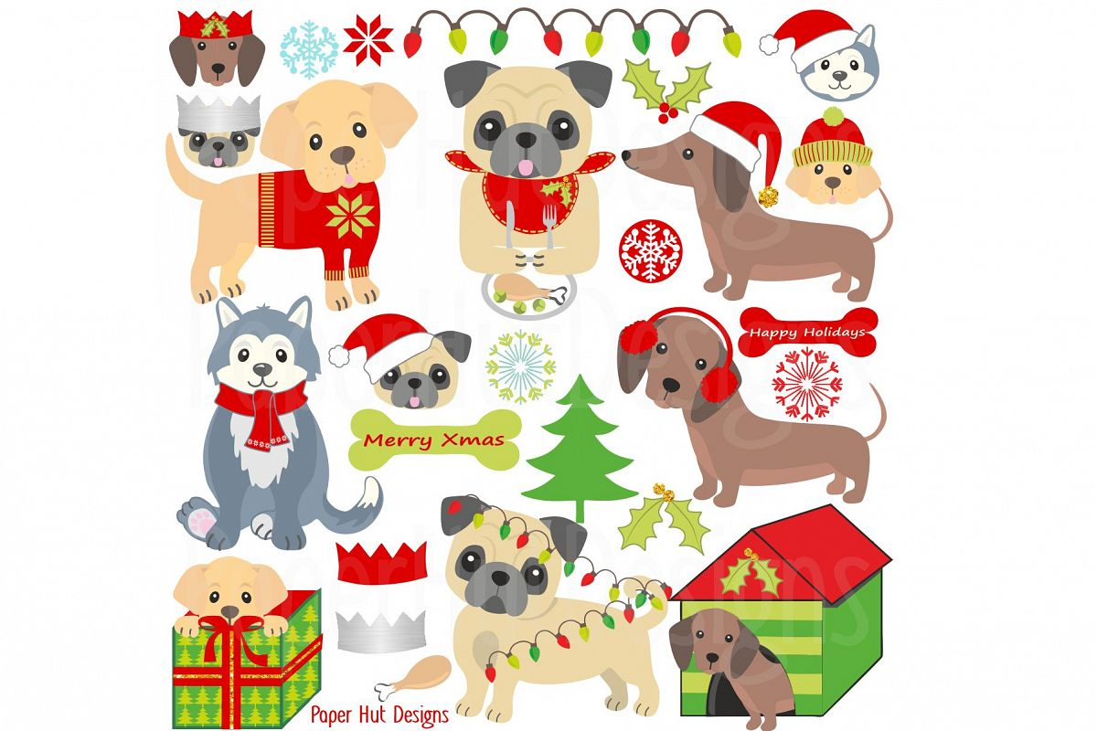 Clipart Dogs Xmas Clipart Dogs Xmas Transparent Free For Download On Webstockreview 2020