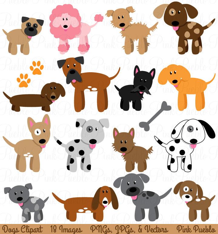 Clipart dogs. Dog clip art panda