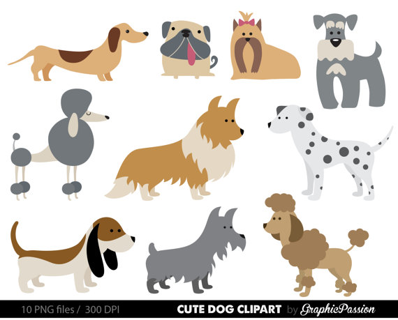 Clipart dogs. Dog puppy cute clip