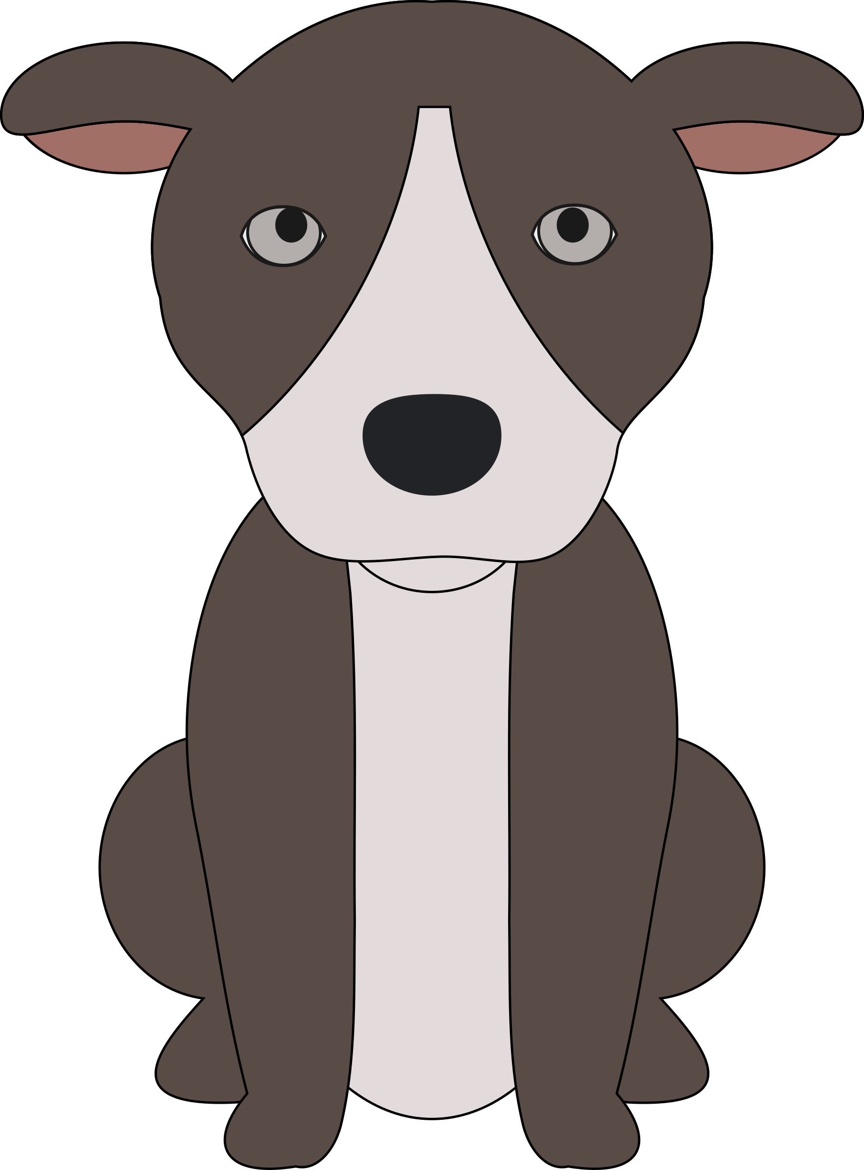 clipart puppy small puppy