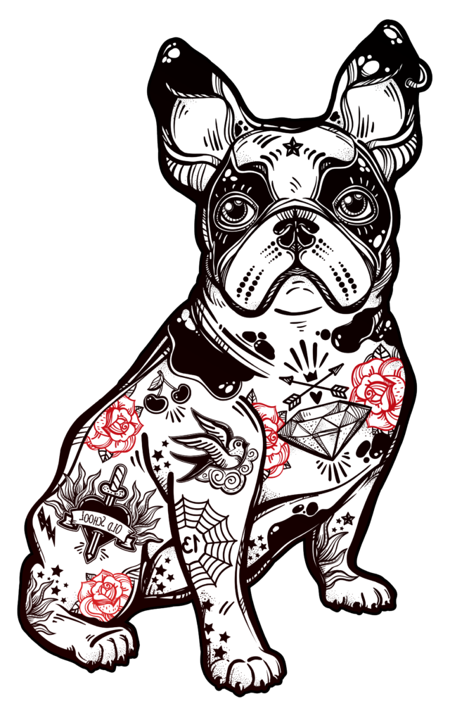 Butts to wiggle at. Clipart dogs american bully