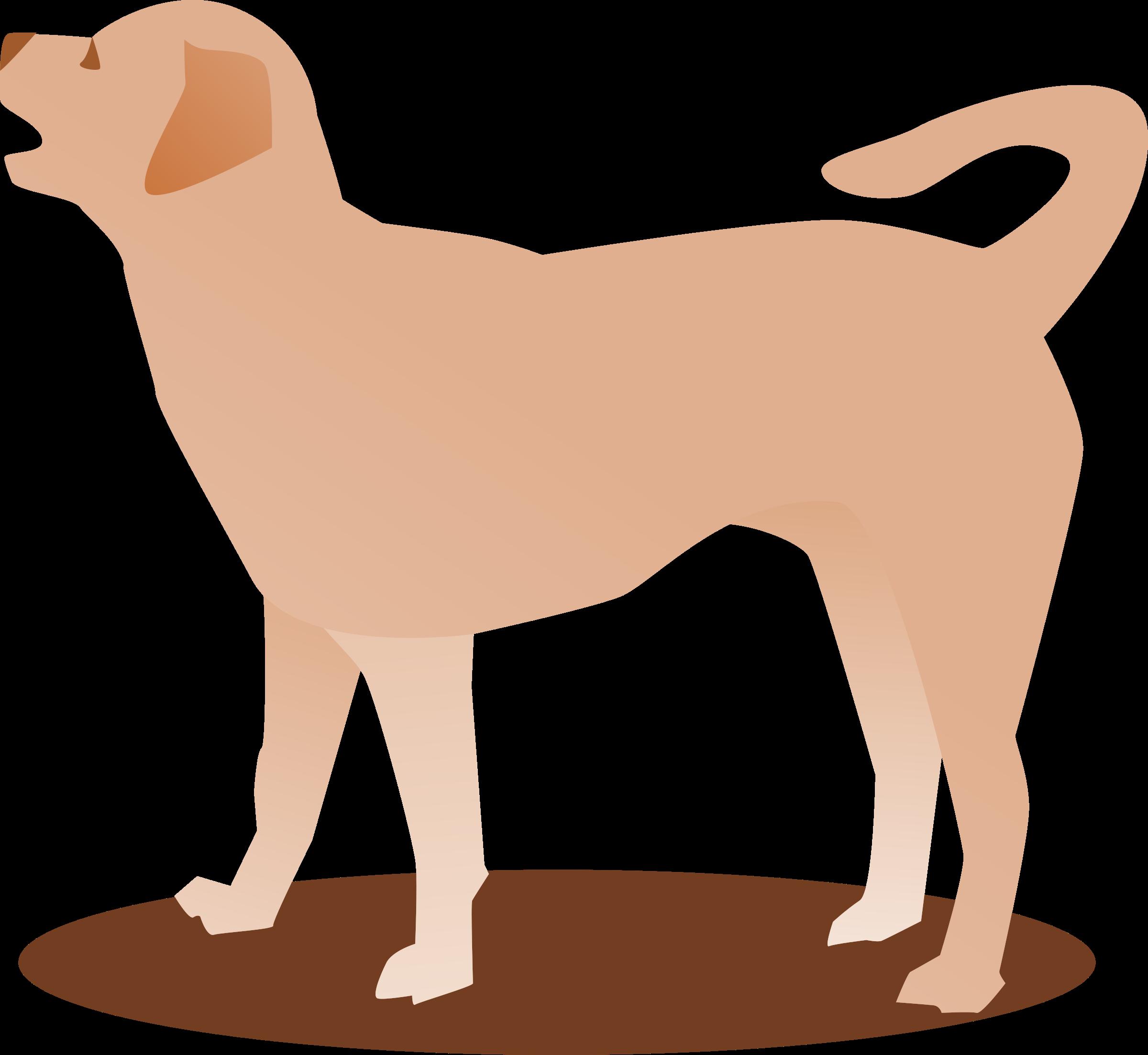 Barking dog group. Pet clipart gog