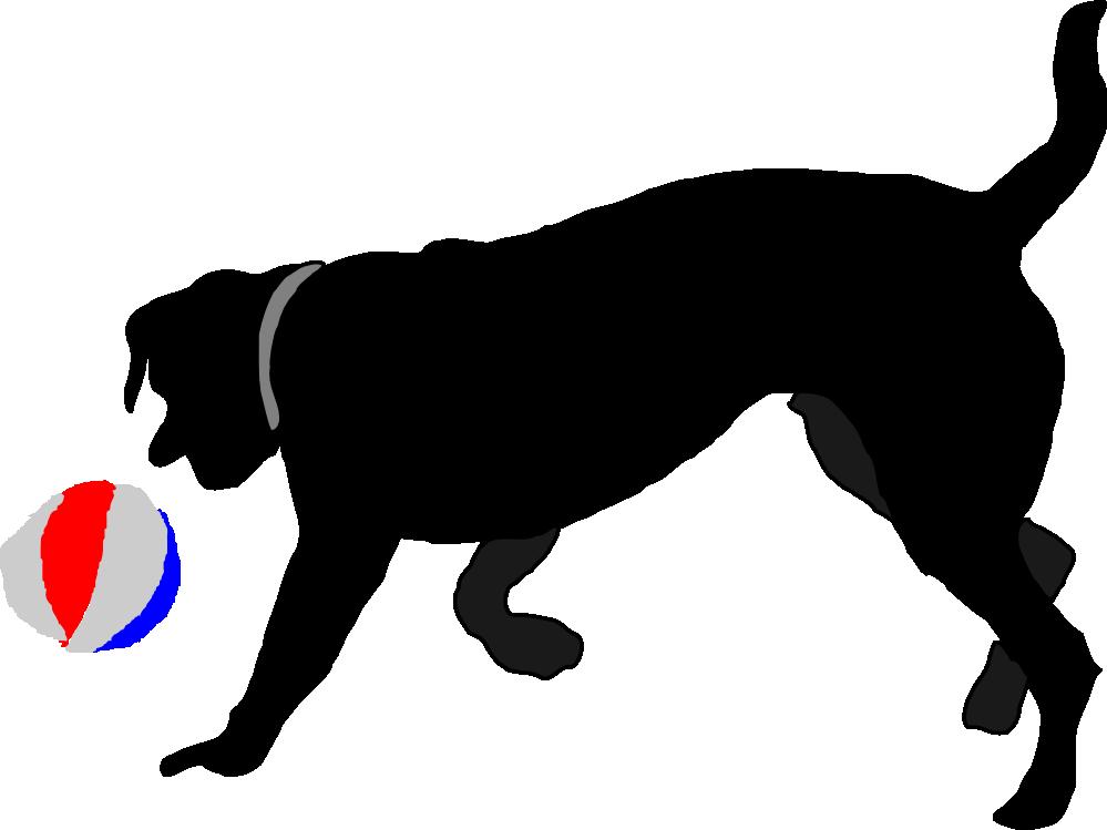 Dogs clipart ball. Clipartist net clip art