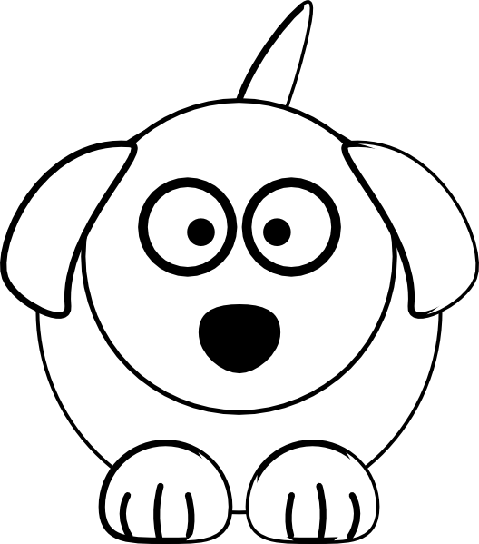 Courthouse clipart black and white. Dog clip art at