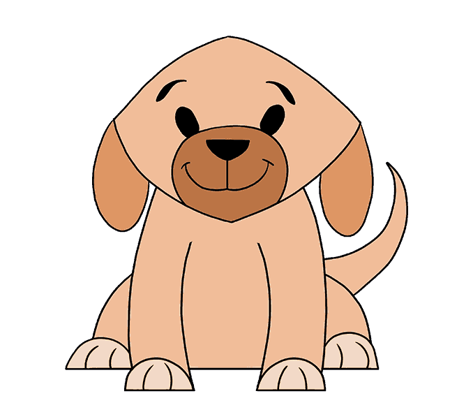 Husky clipart simple drawing. Dog images at getdrawings