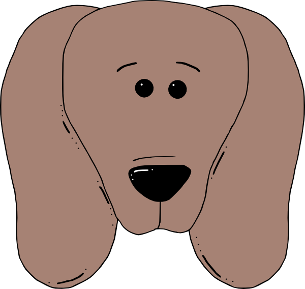House clipart face. Puppy dog clip art