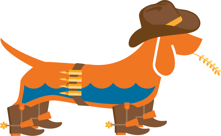 Home waterdog technologies . Clipart dogs cowboy