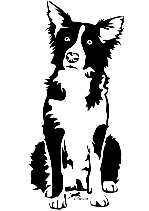 Clipart dogs element. Pin border image ot