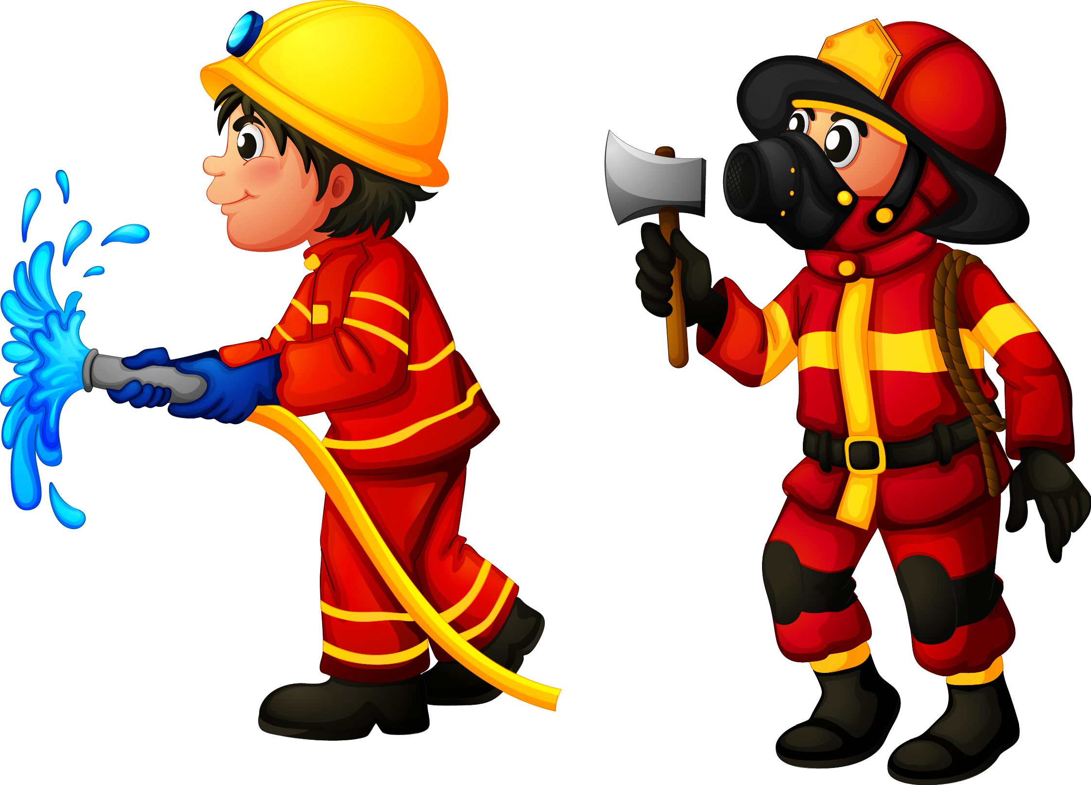 Firefighter royalty free stock. Fireman clipart work clipart