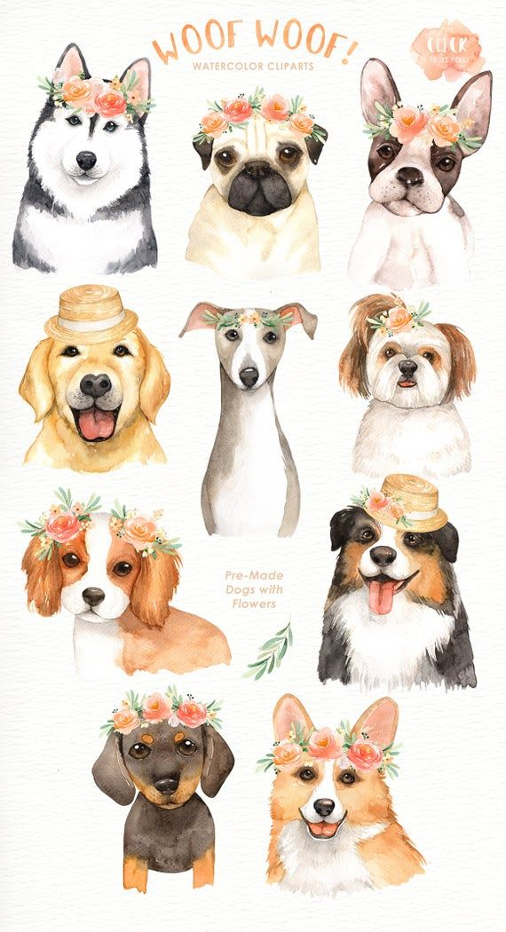 Woof lover cliparts woodland. Clipart dogs flower