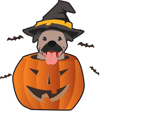 Clipart dogs halloween. Clip art dog arts