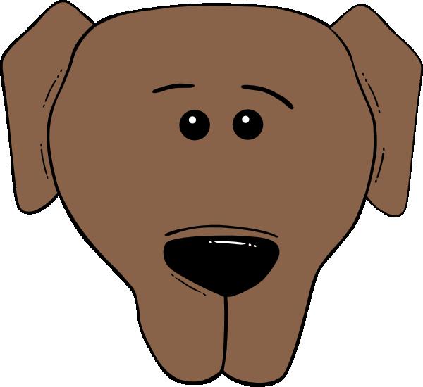 Cartoon dog clip art. Dogs clipart head