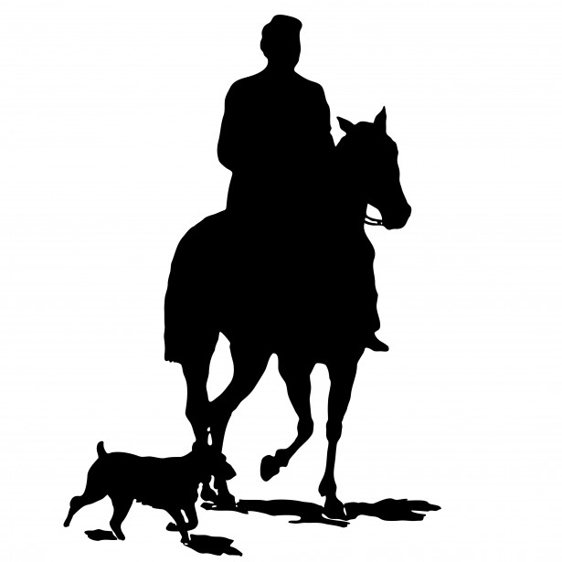 Horse silhouette free stock. Horses clipart dog