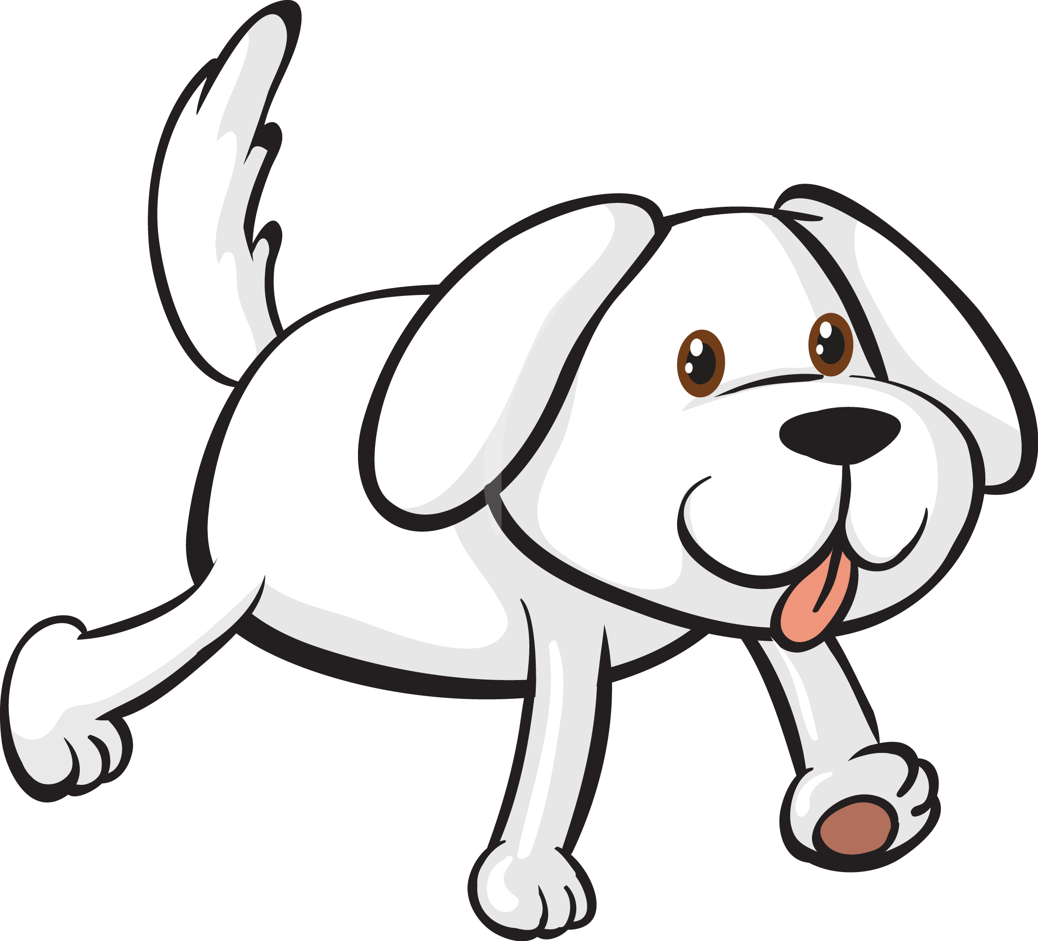 Clipart puppy line art. Maltese dog bichon frise