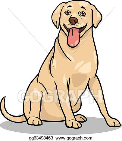Clip art vector retriever. Clipart dogs labrador