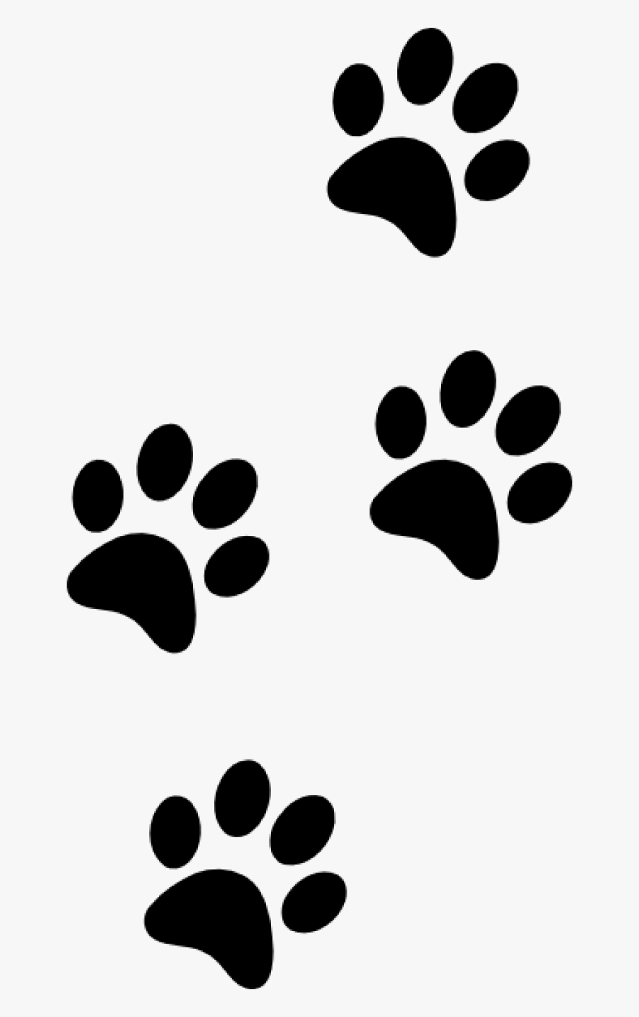 Pawprint clipart small dog. Clip art tiger paw