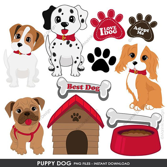 Doghouse clipart dog themed. Puppy clip art cute