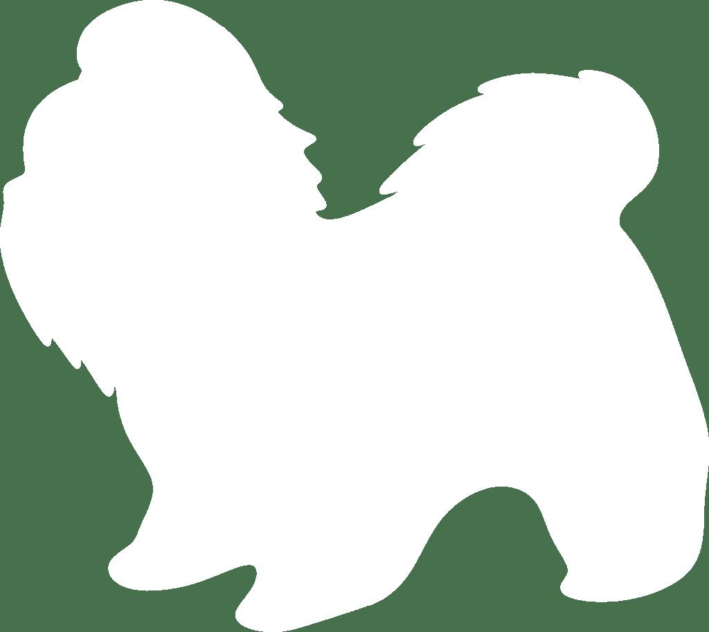 Shih tzu silhouette clip. Clipart dogs shitzu