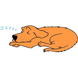 Free nap cliparts download. Dog clipart sleeping