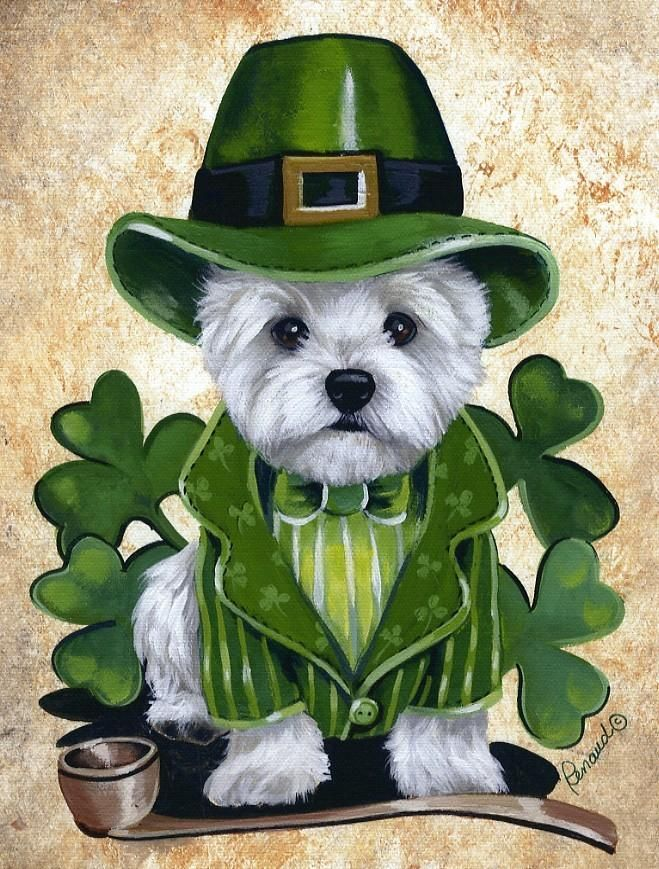 Clipart dogs st patrick day.  delicious recipes for