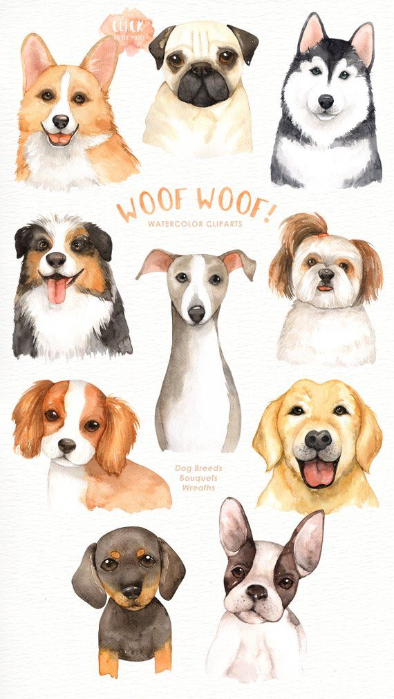 Dogs clipart flower. Woof lover cliparts woodland