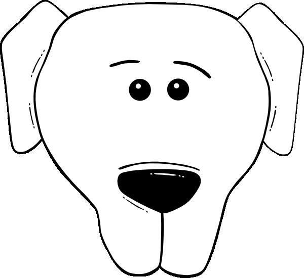Clipart dogs worried. Dog face cartoon world