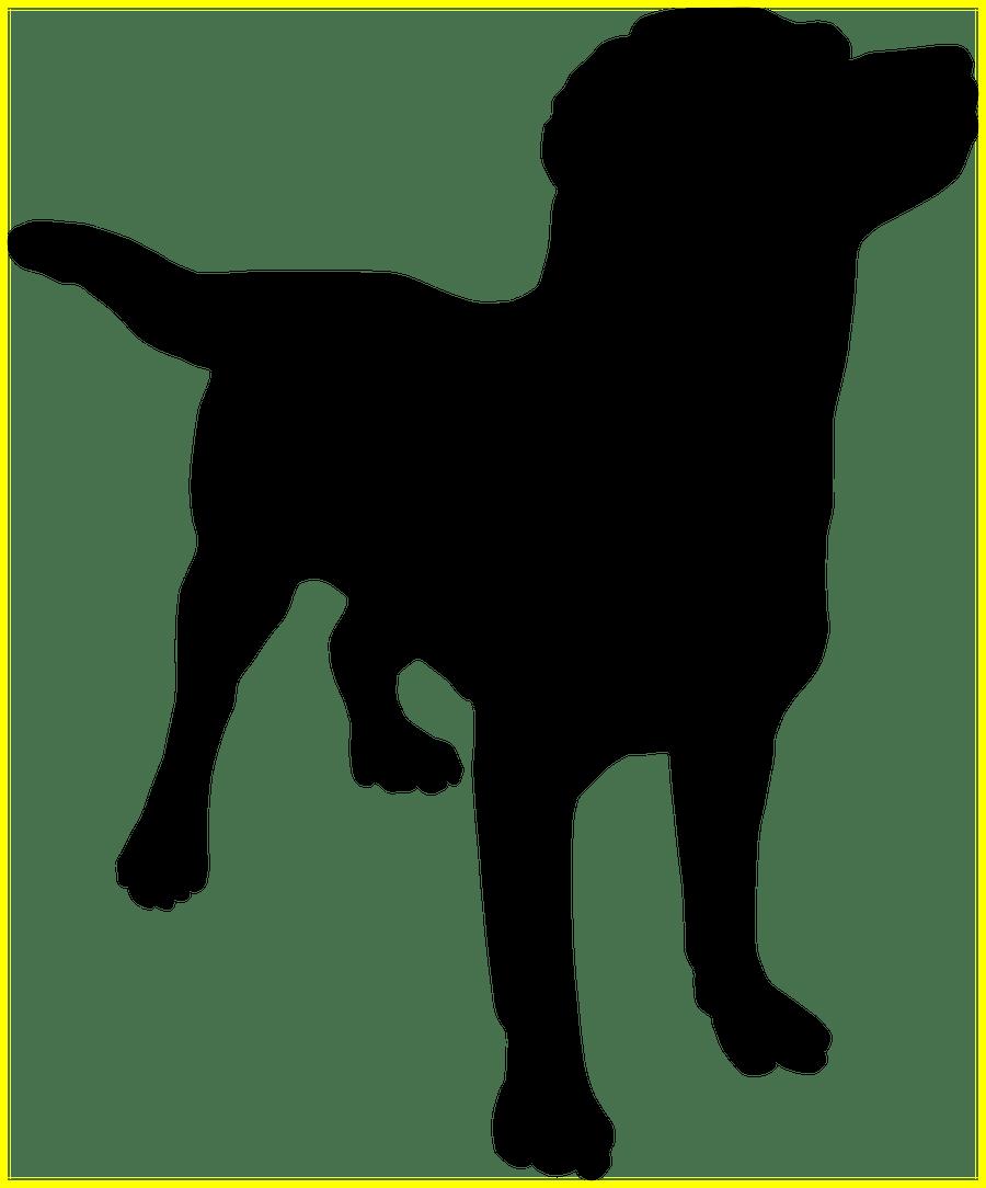Shocking dog silhouette pics. Husky clipart canine