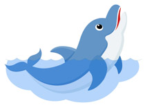 Free clip art pictures. Dolphin clipart