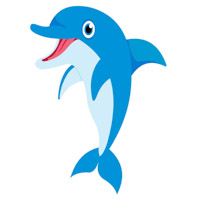 Free clip art pictures. Clipart dolphin