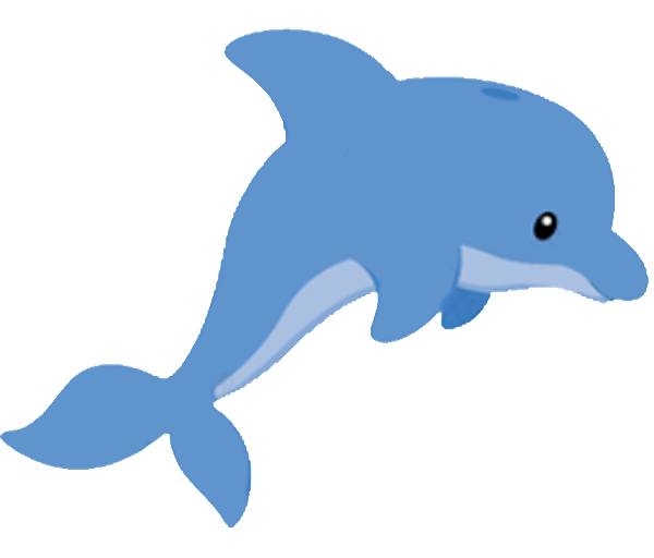 collection of high. Dolphin clipart traceable