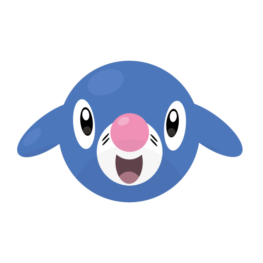 Popplio icon by alolan. Clipart dolphin animated dancing