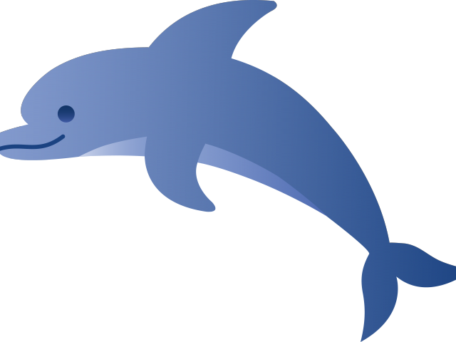Cartoon picture of a. Dolphin clipart blue dolphin