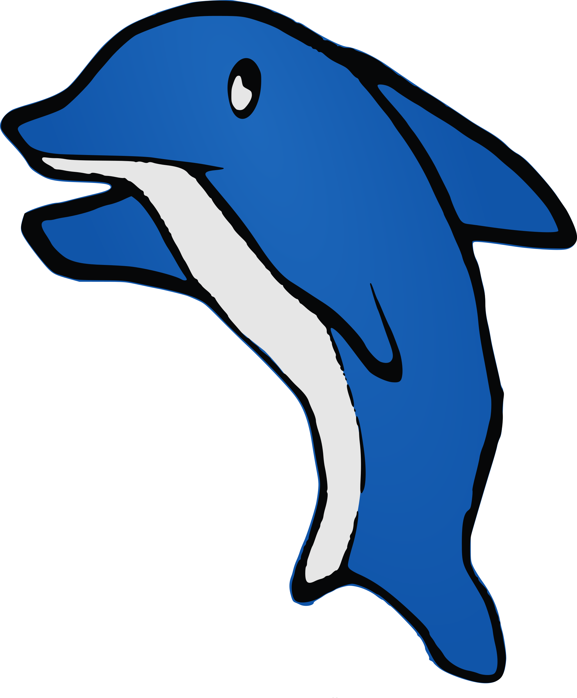 Dolphin clipart blue dolphin. Big image png