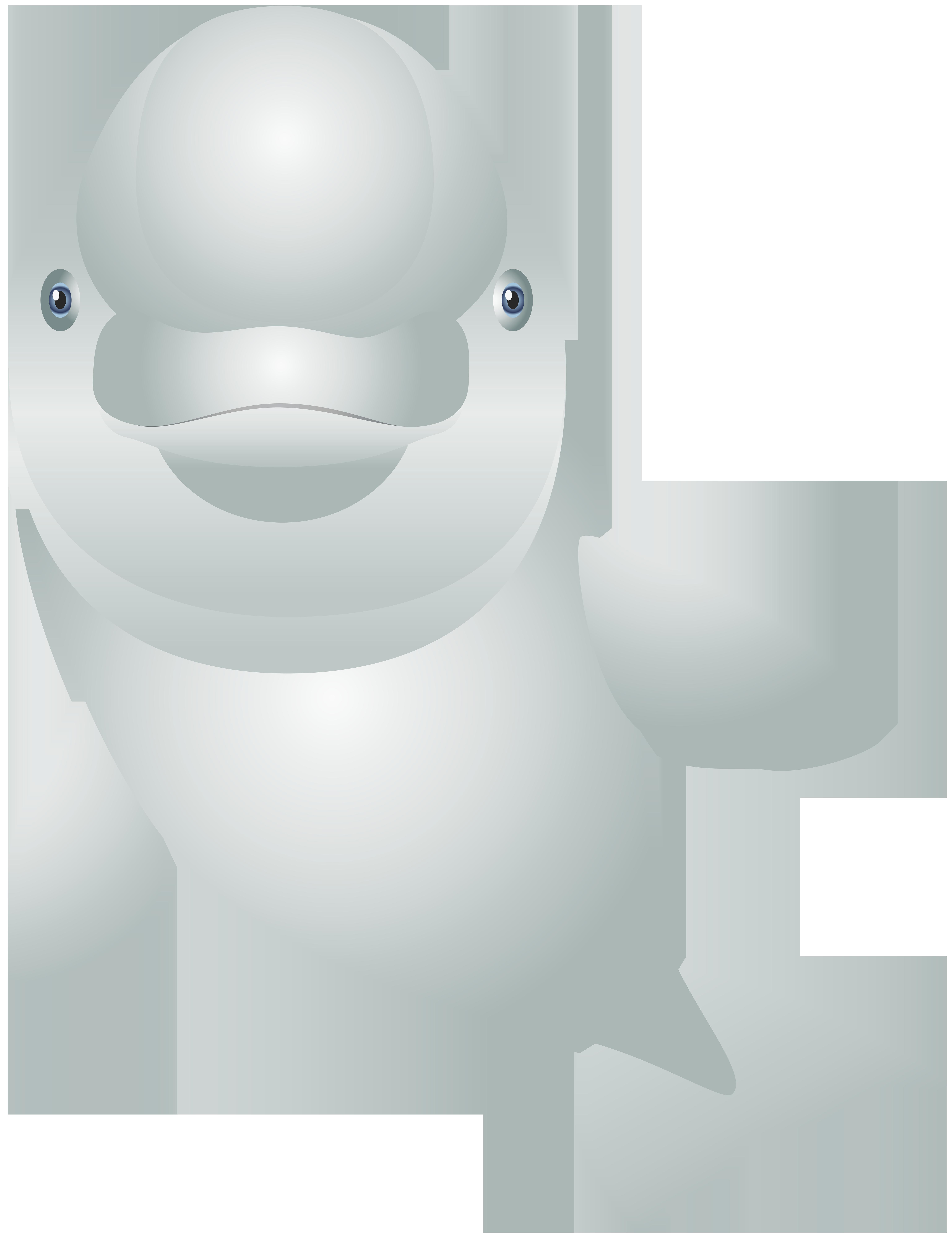 White cartoon transparent clip. Dolphin clipart valentines